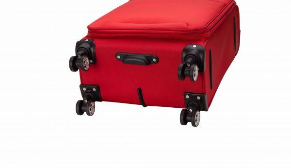Valise cabine souple 55 cm snowball rouge 4 roulettes 95203 1