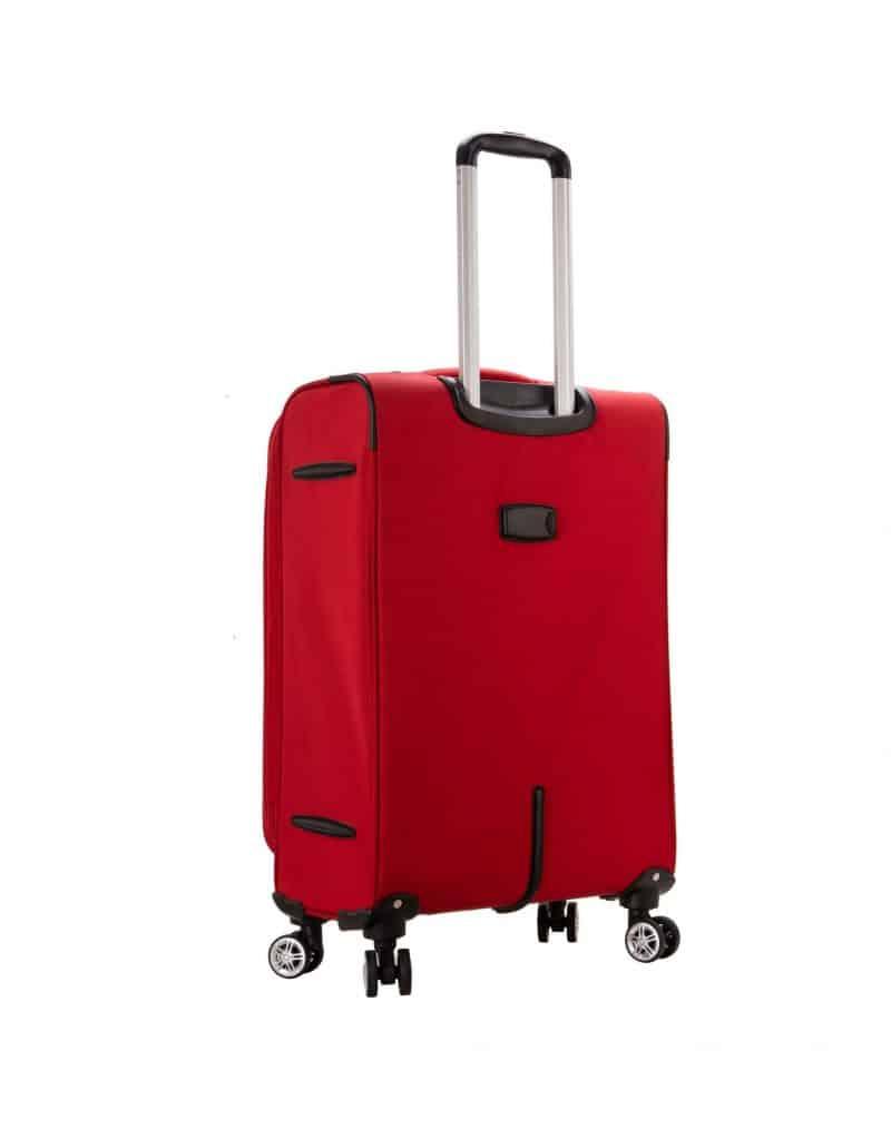 Valise cabine souple 55 cm snowball rouge amazon 95203 1