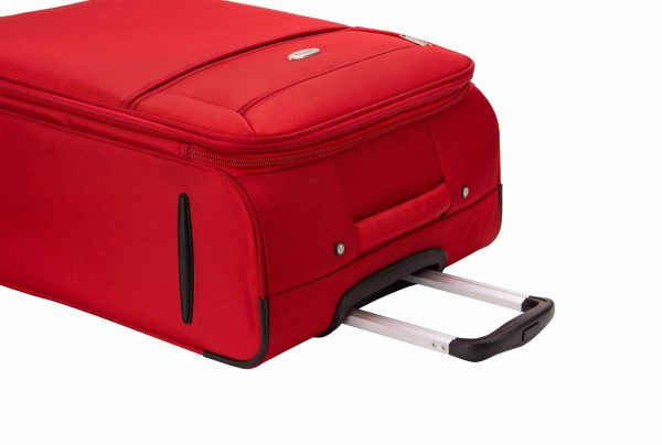 Valise cabine souple 55 cm snowball rouge low cost 95203 1