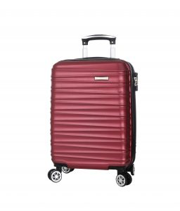 valise cabine extensible 55 cm Madisson rouge A6220355