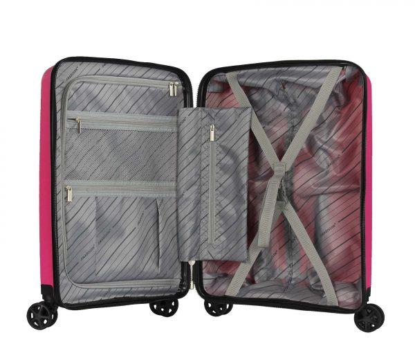 valise cabine rose Madisson 04103n polypropylène
