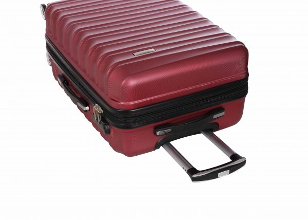 valise cabine extensible 55 cm Madisson rouge A62203552