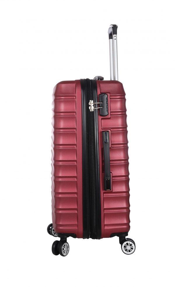 valise rigide XXL 75 cm pas cher madisson A62203 rOUGE