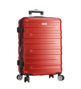 valise grande taille 75 cm rouge snowball 87603