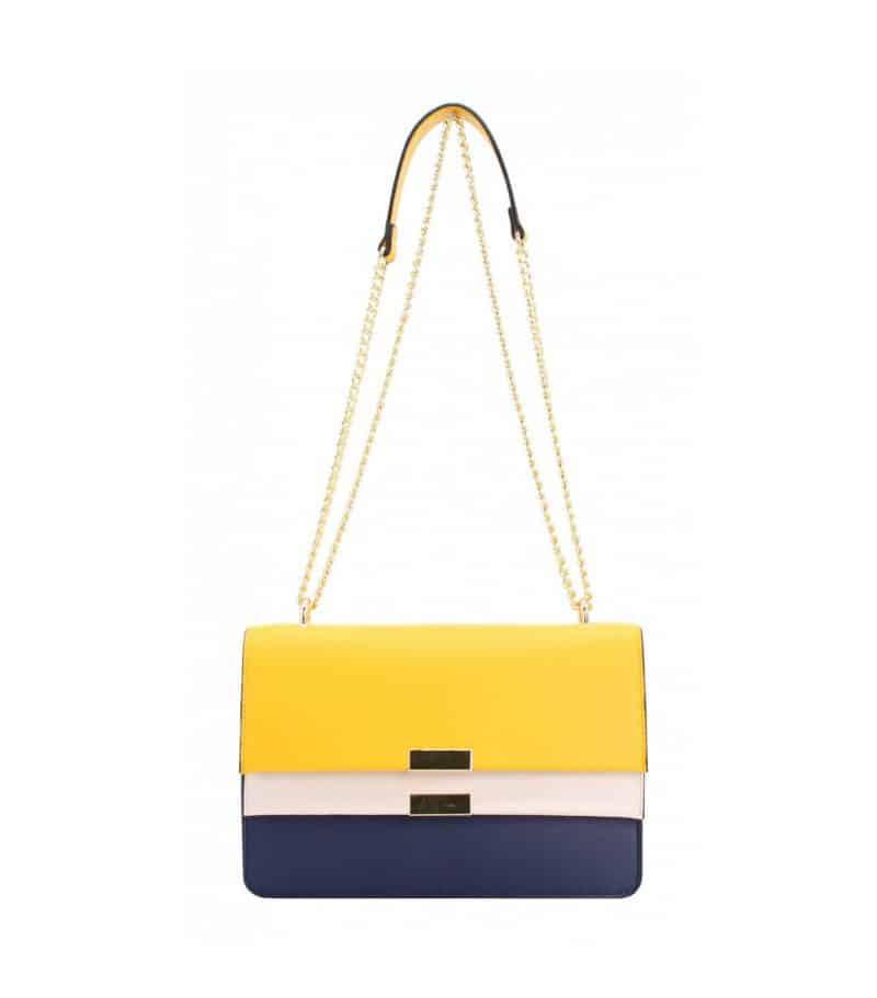 petit sac bandoulière pour femme jaune 282262