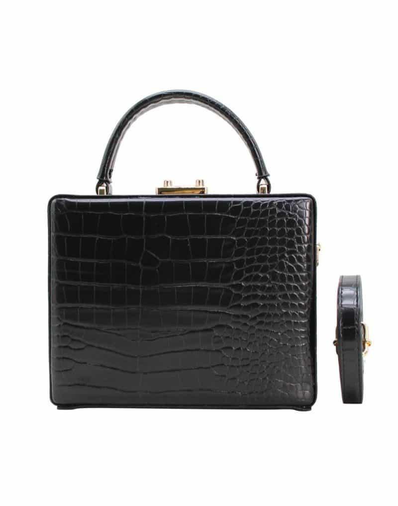 PETIT sac à main rectangle noir
