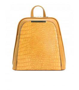 sac à dos femme de ville moutarde 282229