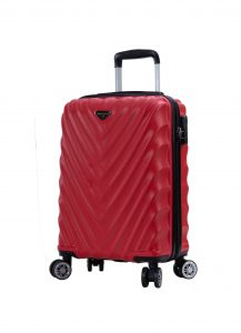 valise cabine 55 cm pas cher rouge madisson