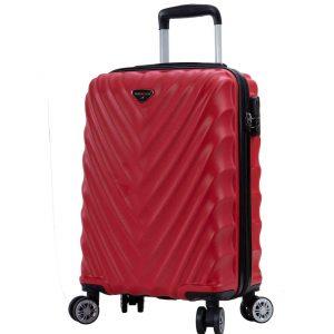 valise cabine 55 cm pas cher rouge madisson