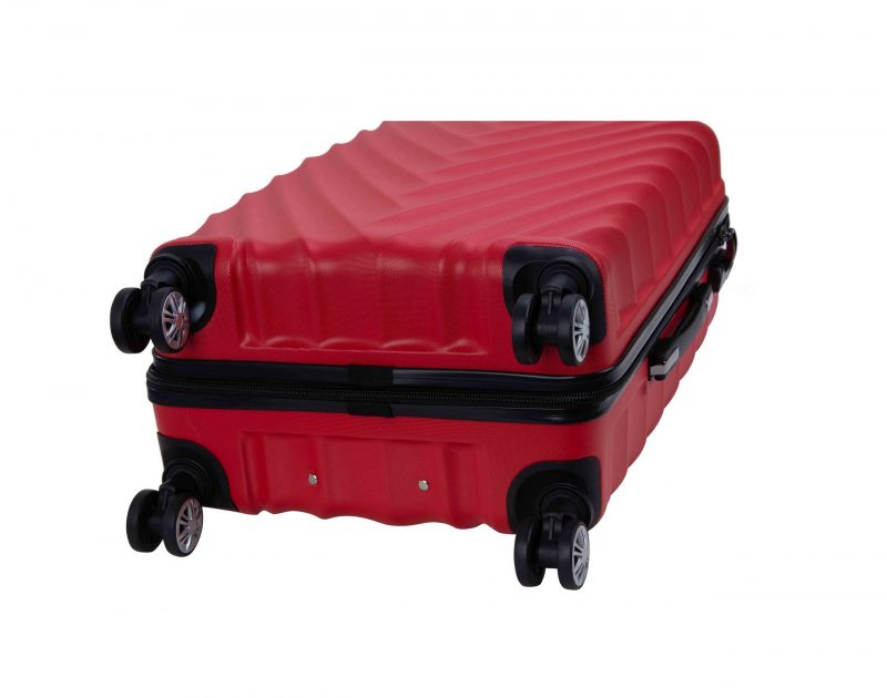 valise cabine 55 cm madisson ROUGE 95503R21A