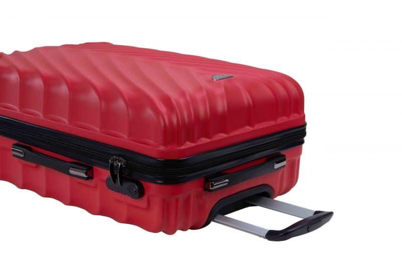 valise cabine 55 cm madisson ROUGE 95503R21Z