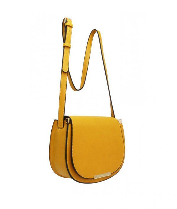 sac bandoulière femme moutarde