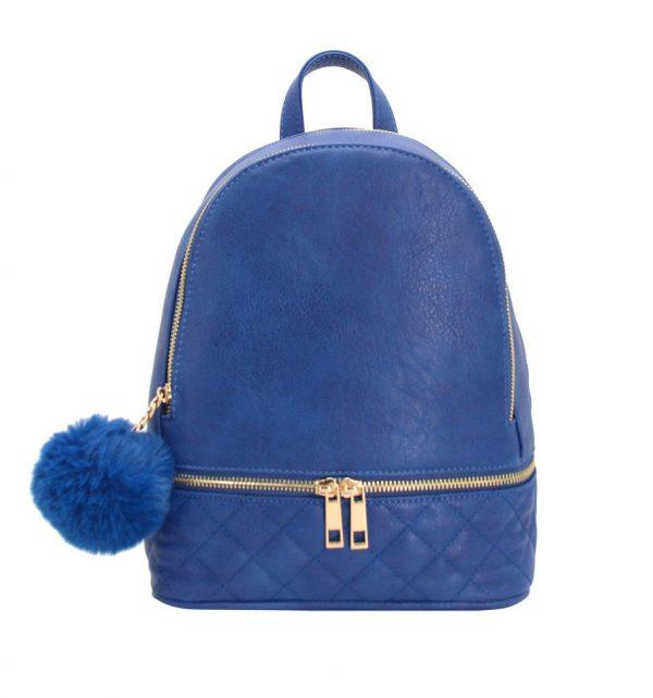 sac à dos femme bleu matelassé parisac
