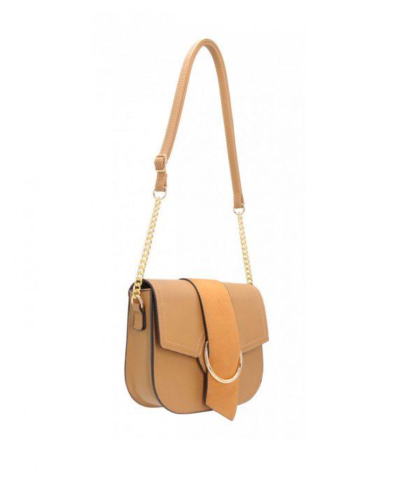 sac besace bi matière pour femme gold 281821 (1)
