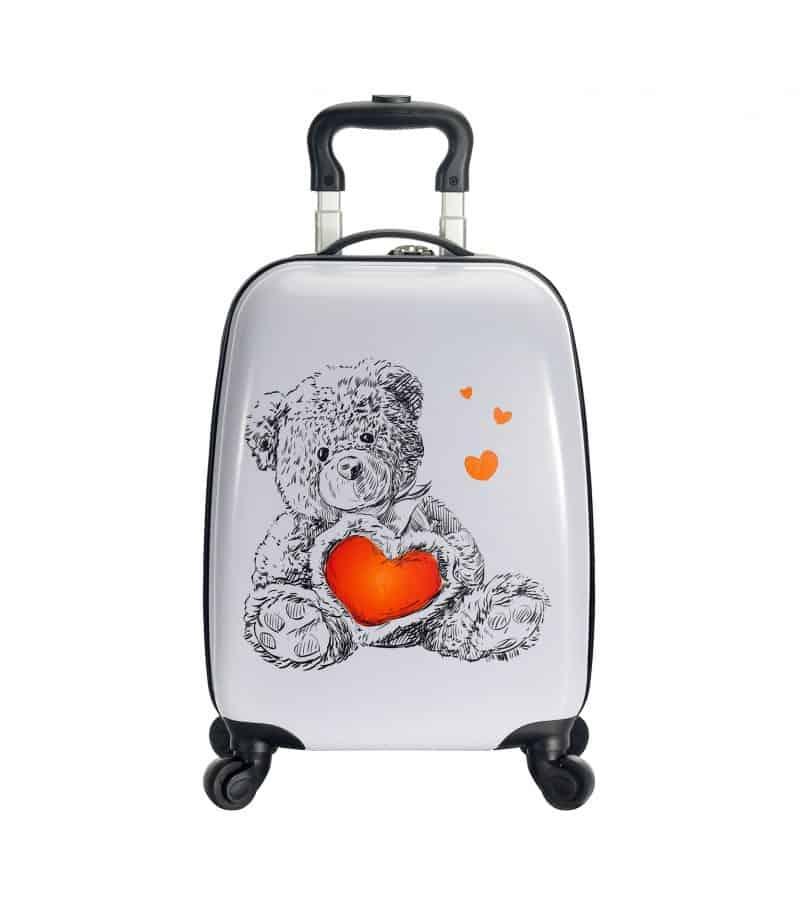 valise cabine enfant ourson
