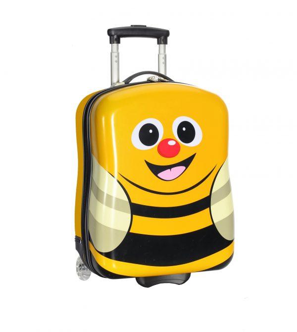 valise enfant abeille jaune snowball