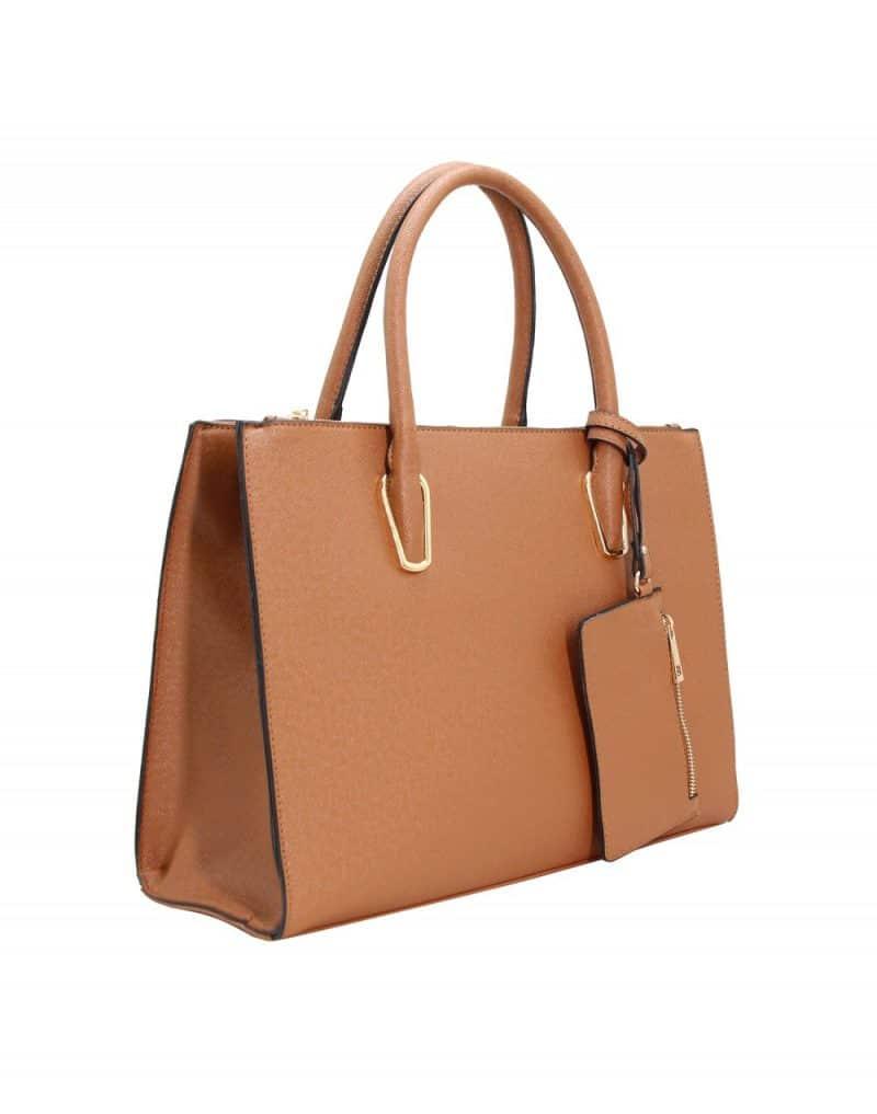 grand sac à main camel 281676