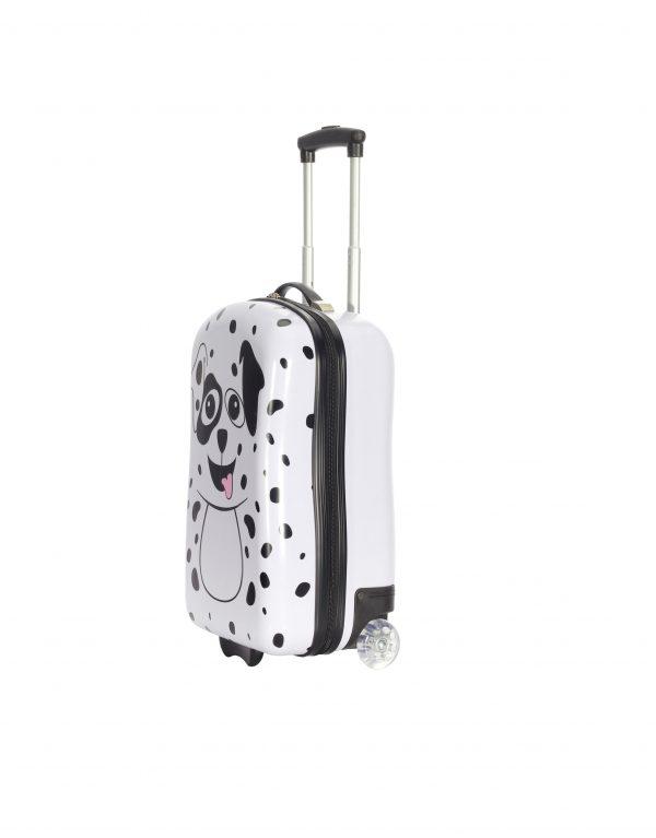 Valise enfant dalmatien chien blanc noir