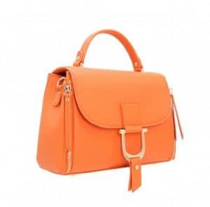 petit sac à main orange