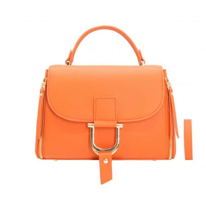 petit sac à main femme orange