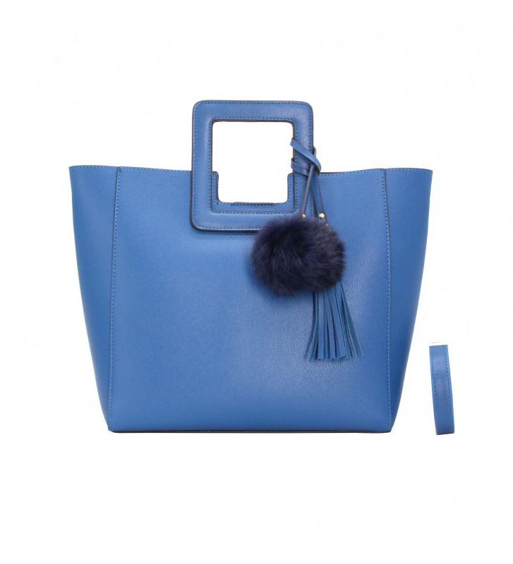 sac-main-femme-trapèzes-Bleu-Mode