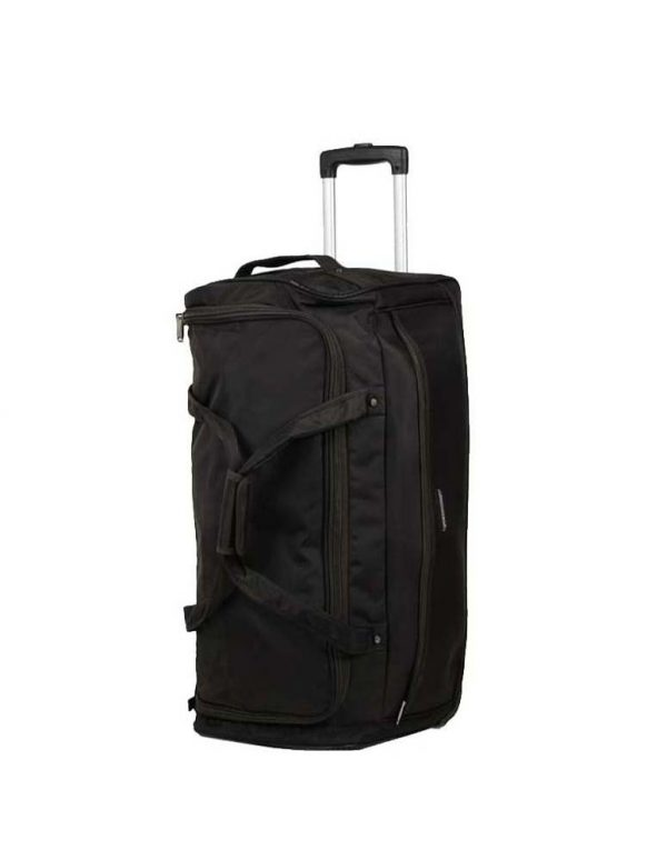 sac de voyage à roulettes 70 cm snowball noir