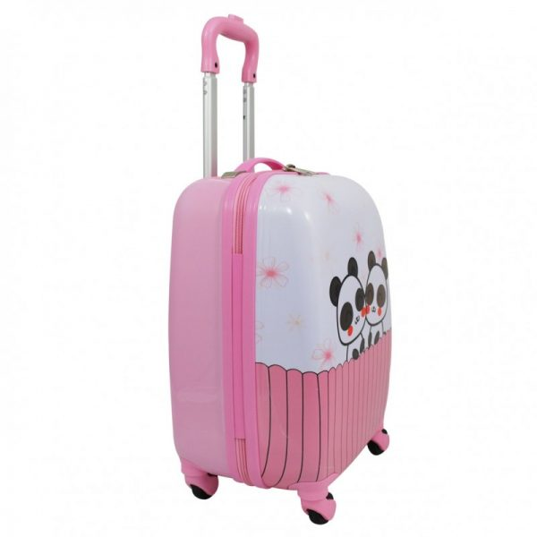 valise enfant rose cabine snowball pas cher