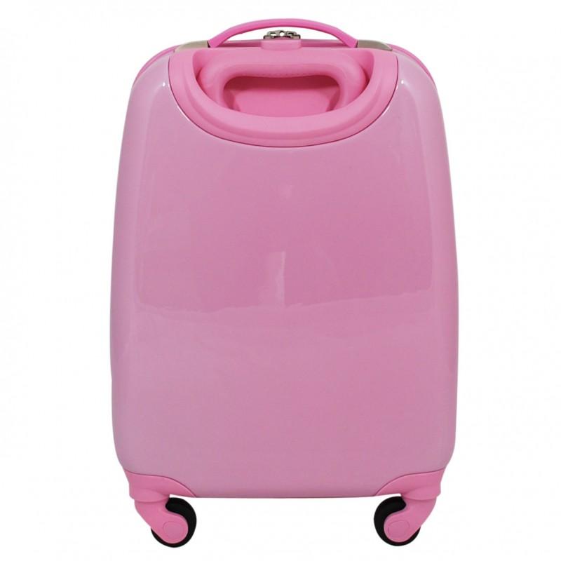 petite valise enfant rose cabine snowball