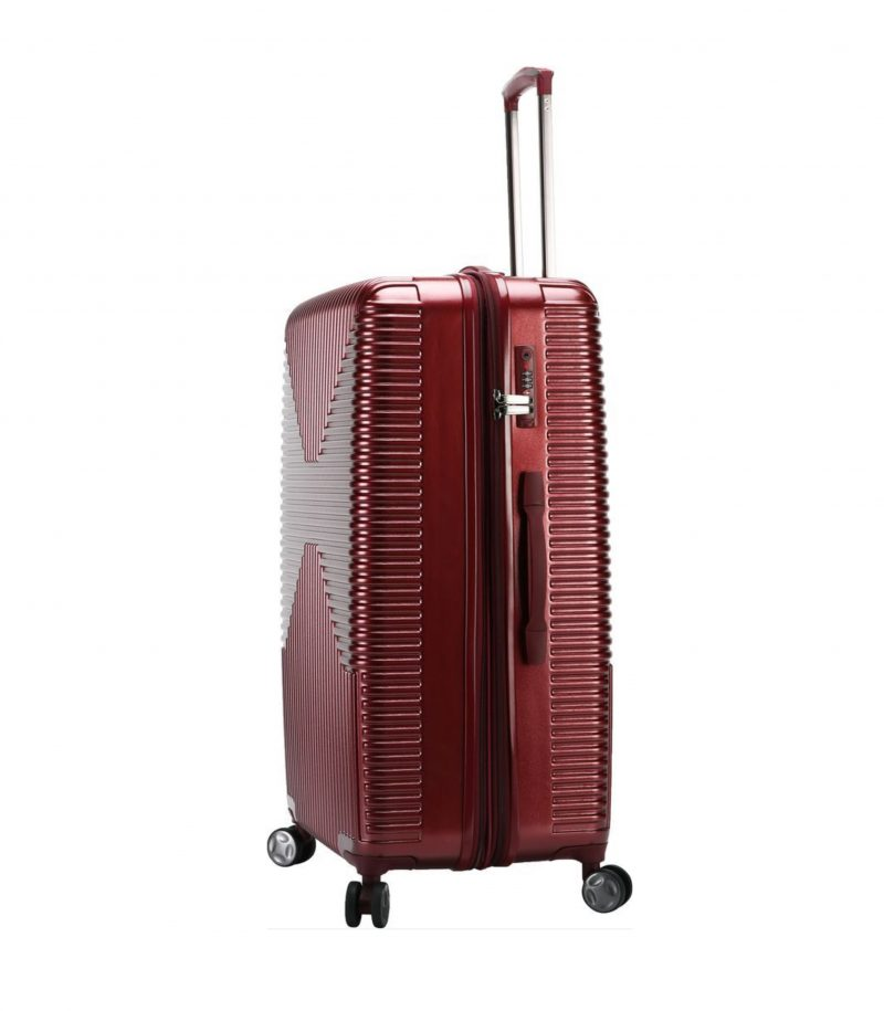 valise polycarbonate rouge snowball