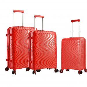 Ensemble de 3 valises en polypropylène Braga