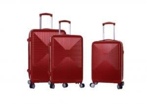 Ensemble 3 valises rigides polycarbonate snowball