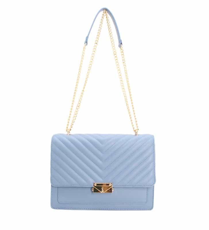 sac-bandoulière-matelasse-Bleu