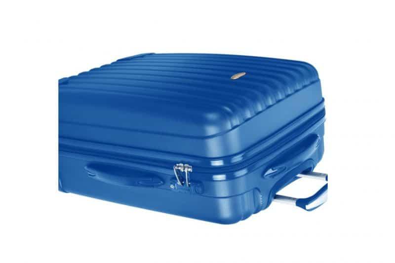 valise cabine 55 cm bleu