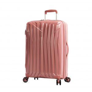 valise rigide rose polypropylène 04203
