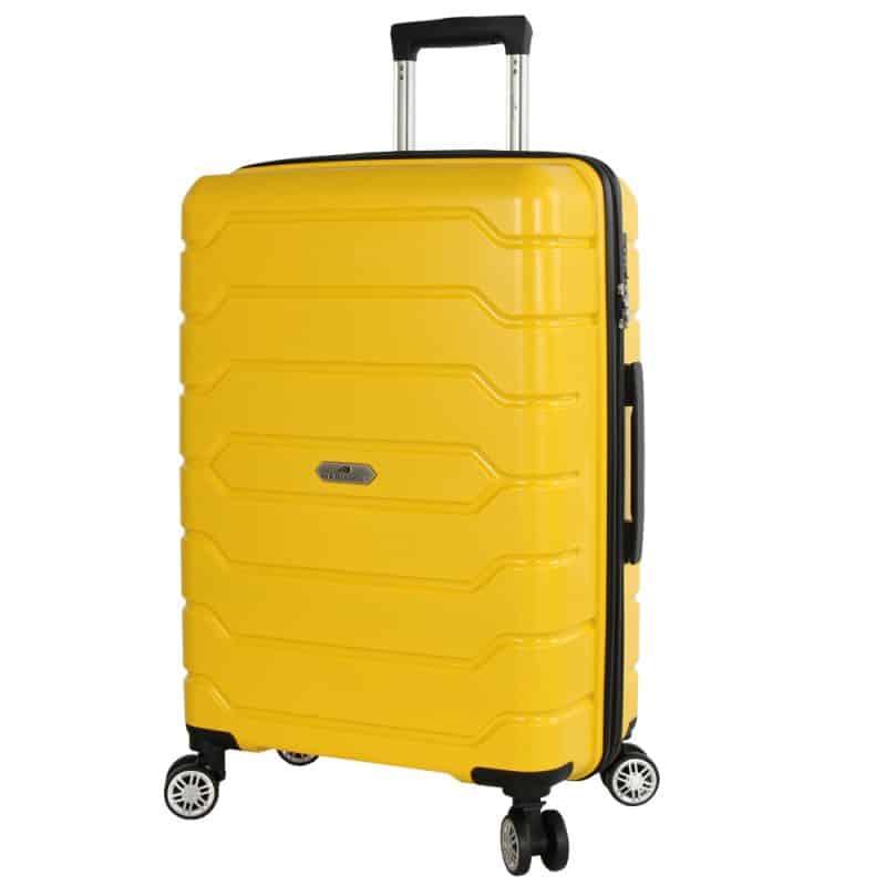 valise rigide jaune madisson 2