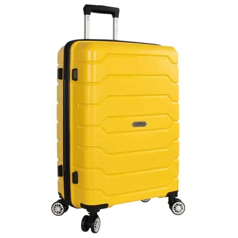 valise rigide jaune madisson 1