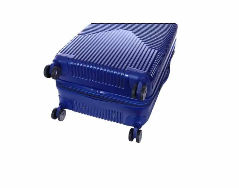 valise polycarbonate bleu