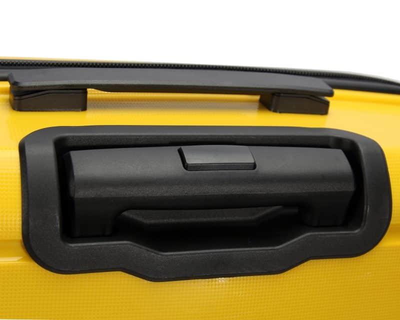 valise rigide jaune madisson poignée