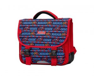 cartable cp maternelle 35 cm rouge snowball