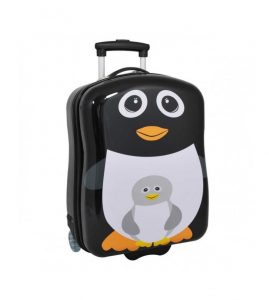 petite valise cabine 45 cm pour enfant motif pingouin