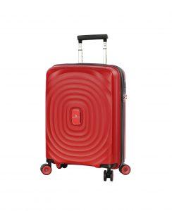 valise cabine rigide polycarbonate 55 cm ROUGE