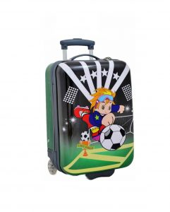 valise cabine enfant vert foot madisson