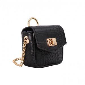 mini sac porte airpods accessoires noir