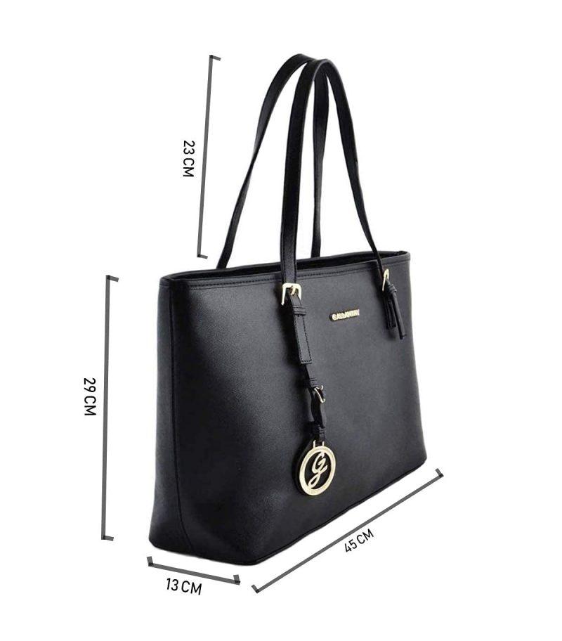 sac cabas épaule A4 noir