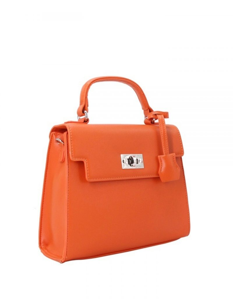 sac à main orange tendance