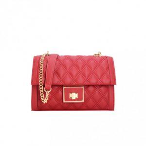petit sac matelassé rouge pour femme pas cher