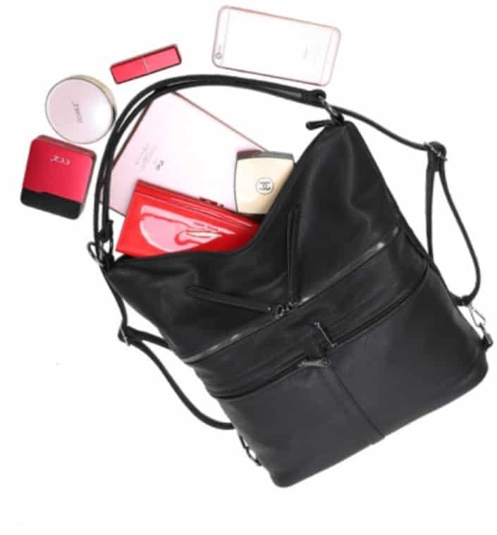 sac porté épaule gallantry noir